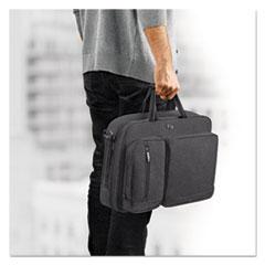 """Solo CASE HYBD BRFCS 15.6 GY L Urban Hybrid Briefcase, 15.6"""", 16 3-4"""" X 4"""" X 12"""", Gray"""
