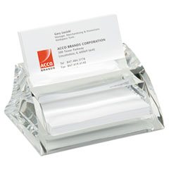 SWI 10135 Swingline Stratus Acrylic Business Card Holder SWI10135