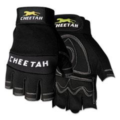 CRW 935CHFLS Memphis Cheetah 935CHFL Fingerless Gloves CRW935CHFLS