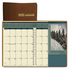 HOD 523 House of Doolittle Landscapes 100% Recycled Full-Color Ruled Monthly Planner HOD523