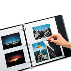 C-Line Redi-Mount Photo Mounting Sheets, 11 x 9, 50/BX