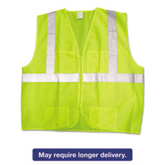 KCC 22839 Jackson Safety* ANSI Class 2 Deluxe Safety Vest KCC22839