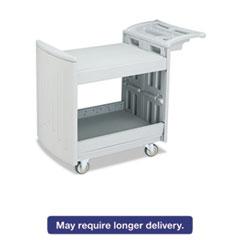 SAF 5330GR Safco Two-Shelf Utility Cart SAF5330GR