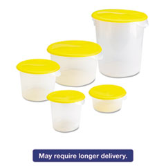 RCP 572024CLE Rubbermaid Commercial Round Storage Containers RCP572024CLE