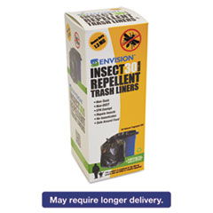 STO STOP3340K13R Stout Insect-Repellent Trash Bags STOSTOP3340K13R