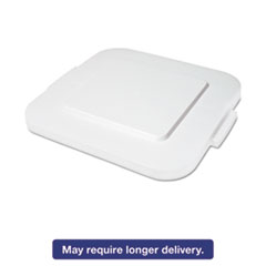 RCP 3539WHI Rubbermaid Commercial Square Brute Lid RCP3539WHI