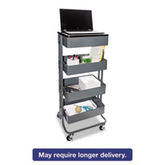 VRT VF51025 Vertiflex Multi-Use Storage Cart and Stand-Up Workstation VRTVF51025