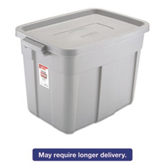 RCP 2215STE Rubbermaid Commercial Roughneck Storage Box RCP2215STE