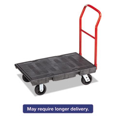 RCP 4403BLA Rubbermaid Commercial Heavy-Duty Platform Truck RCP4403BLA