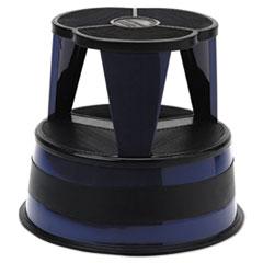 "Cramer® STEPSTOOL ROLLING NVBE KIK-STEP STEEL STEP STOOL, 2-STEP, 350 LB CAPACITY, 16"" DIA. X 14.25H, NAVY"
