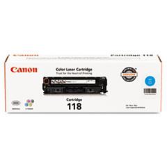 Canon 2661B001 (118) Toner, 2900 Page-Yield, Cyan