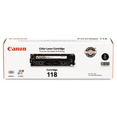 Canon 2662B001 (118) Toner, 3400 Page-Yield, Black