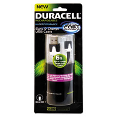 ECA PRO428 Duracell Sync and Charge Cable ECAPRO428