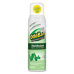 ODO 91000114AEA OdoBan Ready-To-Use Disinfectant/Fabric & Air Freshener 360° Spray ODO91000114AEA