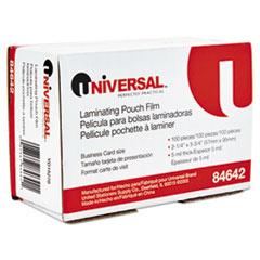 UNV 84642 Universal Laminating Pouches UNV84642