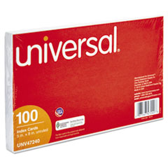 UNV 47240 Universal® Recycled Index Strong 2 Pt. Stock Cards UNV47240