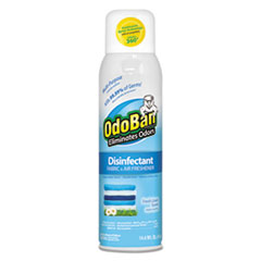 ODO 91070114AEA OdoBan Ready-To-Use Disinfectant/Fabric & Air Freshener 360° Spray ODO91070114AEA