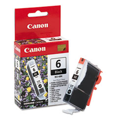 Canon BCI6BK (BCI-6) Ink Tank, 370 Page-Yield, Black