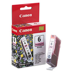 Canon BCI6PM (BCI-6) Ink Tank, 370 Page-Yield, Photo Magenta