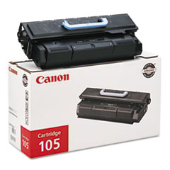 Canon CART105 Toner, 10000 Page-Yield, Black
