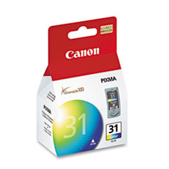 Canon CL31 Ink, Tri-Color
