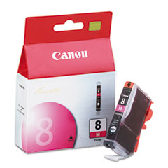 Canon CLI8M, 0622B002, (CLI-8) Ink Tank, Magenta