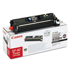 Canon EP87BK (EP-87) Toner, 5000 Page-Yield, Black