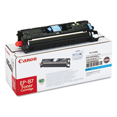 Canon EP87C (EP-87) Toner, 4,000 Page-Yield, Cyan