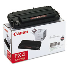 Canon FX4 (FX-4) Toner, 4000 Page-Yield, Black