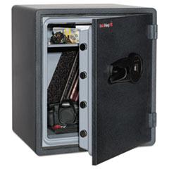 FIR KY19151GRFL Fireking One Hour Fire Safe and Water Resistant with Biometric Fingerprint Lock FIRKY19151GRFL