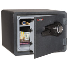 FIR KY09131GRCL Fireking One Hour Fire Safe and Water Resistant with Combo Lock FIRKY09131GRCL