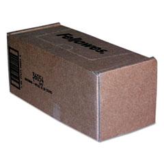 Fellowes® BAG 18X13X36 50-CT CLR SHREDDER WASTE BAGS, 14-20 GAL CAPACITY, 50-CARTON