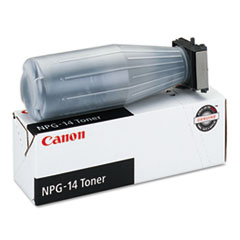 Canon NPG14 (NPG-14) Toner, 25000 Page-Yield, Black