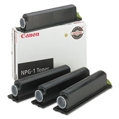 Canon NPG1 Toner, 3800 Page-Yield, 4/Pack, Black