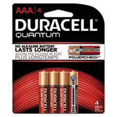 DUR QU2400B4Z Duracell Quantum Alkaline Batteries with Duralock Power Preserve Technology DURQU2400B4Z