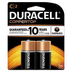 DUR MN1400B2Z Duracell CopperTop Alkaline Batteries with Duralock Power Preserve Technology DURMN1400B2Z