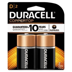 DUR MN1300B2Z Duracell CopperTop Alkaline Batteries with Duralock Power Preserve Technology DURMN1300B2Z