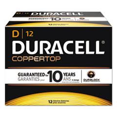 DUR MN1300 Duracell CopperTop Alkaline Batteries with Duralock Power Preserve Technology DURMN1300