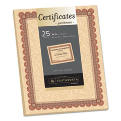 SOU CT5R Southworth® Parchment Certificates SOUCT5R