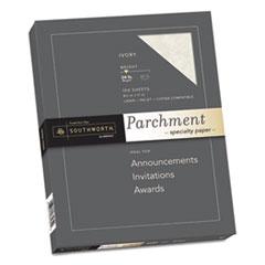 SOU P984CK336 Southworth® Parchment Specialty Paper SOUP984CK336