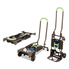 CSC 12222PBG1E Cosco 2-in-1 Multi-Position Hand Truck and Cart CSC12222PBG1E