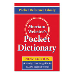 MER 530 Merriam Webster Pocket Dictionary MER530