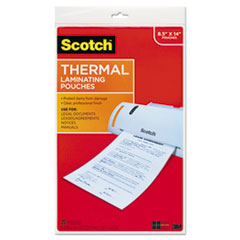 MMM TP385520 Scotch Laminating Pouches MMMTP385520