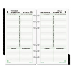 DTM 128001701 Day-Timer® One-Page-Per-Day Classic Refill DTM128001701