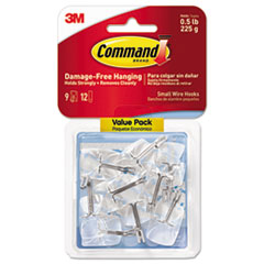 MMM 17067CLR9ES Command Clear Hooks and Strips MMM17067CLR9ES