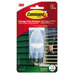 MMM 17093CLRAWES Command All Weather Hooks and Strips MMM17093CLRAWES