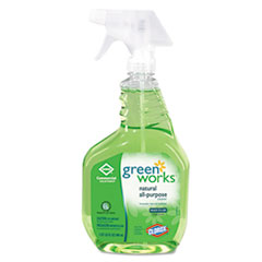 Green Works Naturally Derived All-Purpose Cleaner, Original, 32oz Spray Bottle