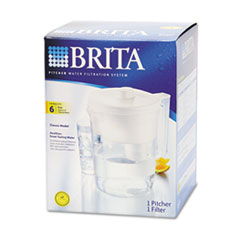 Brita Classic Pour-Through Pitcher, 48-oz. Capacity