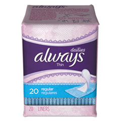 PGC 08279PK Always Dailies Thin Liners PGC08279PK