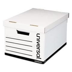 UNV 95221 Universal Medium-Duty Easy Assembly Storage Box UNV95221